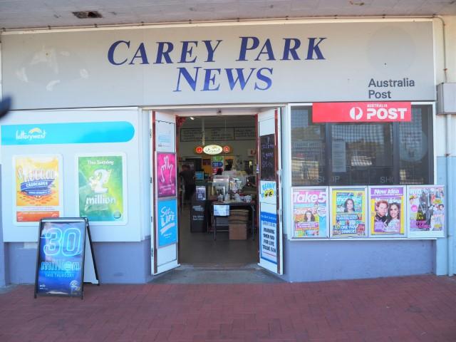 CAREY PARK NEWS / LOTTO / LPO