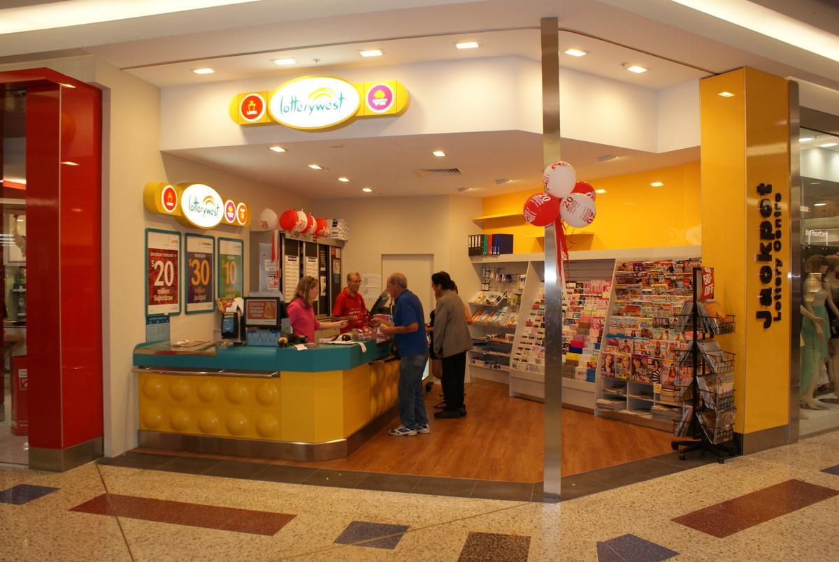 Fabulously presented Lotto kiosk Nthn Sub's