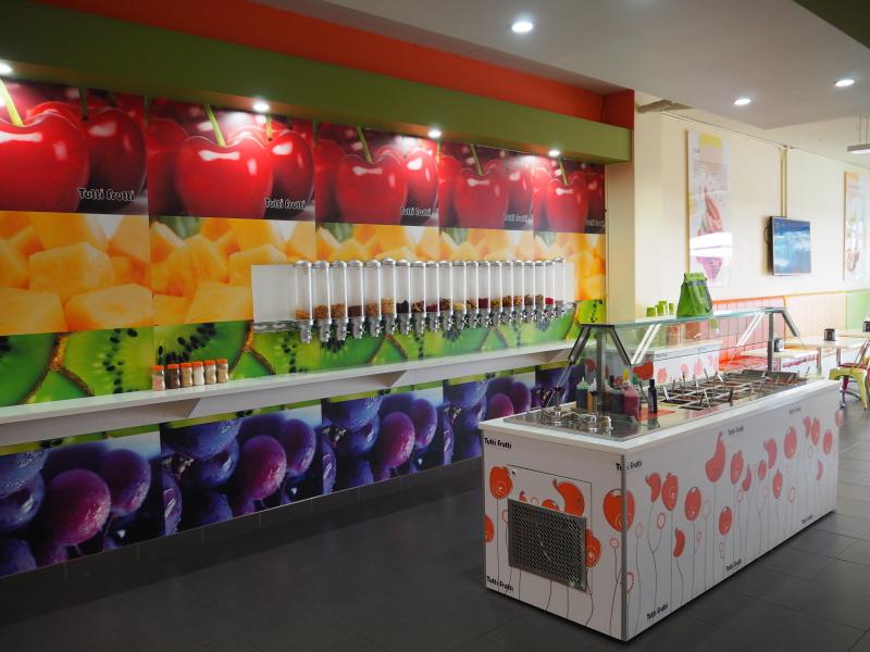 Frozen Yogurt – Estab 4 years, New to market