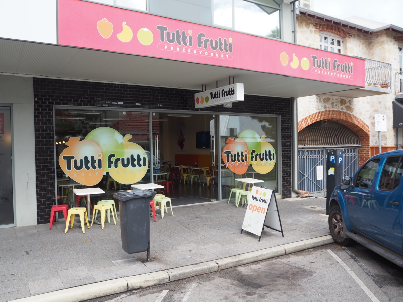 Frozen Yogurt – Estab 4 years, New to market