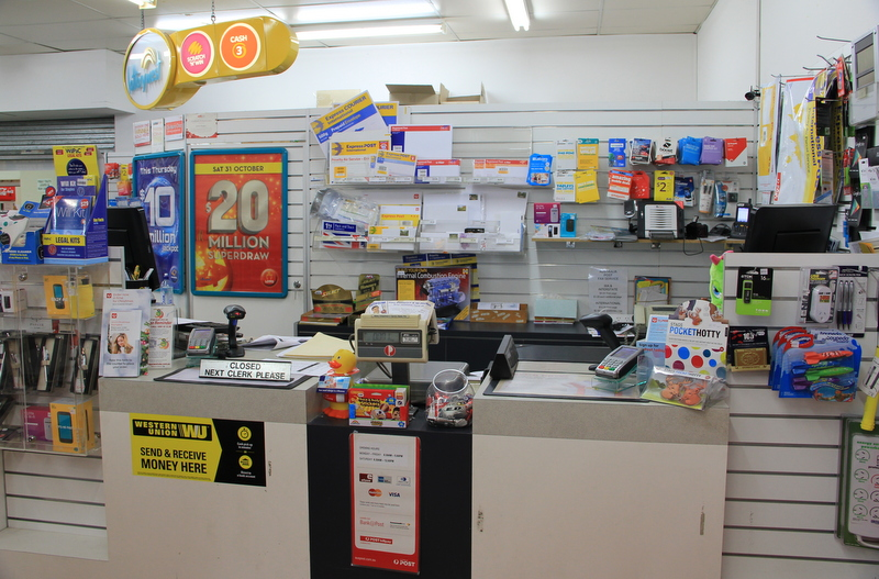 Excellent News, Lotto & Post Office