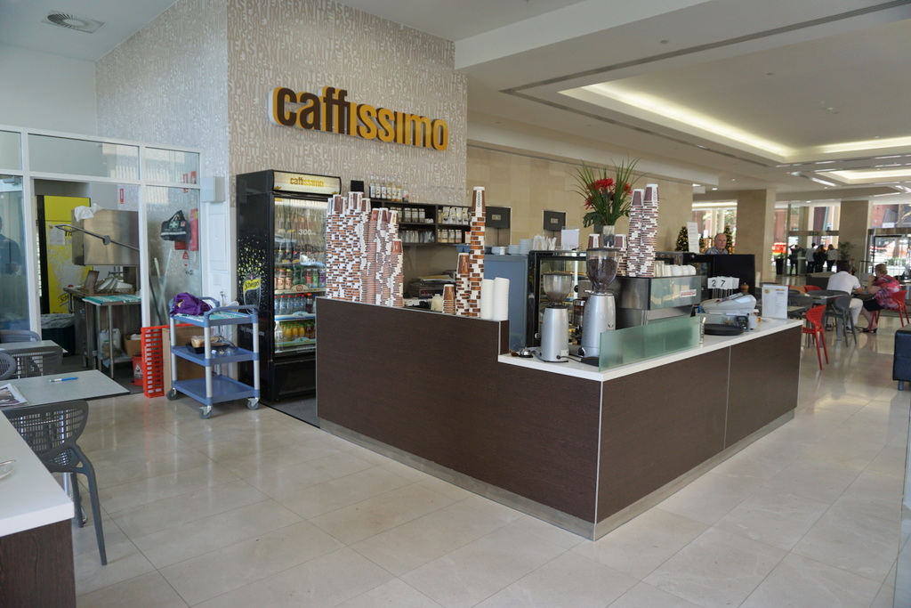 CAFFISSIMO NOW OPEN TO OFFERS