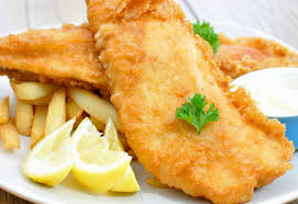 Fish and chips south of the River