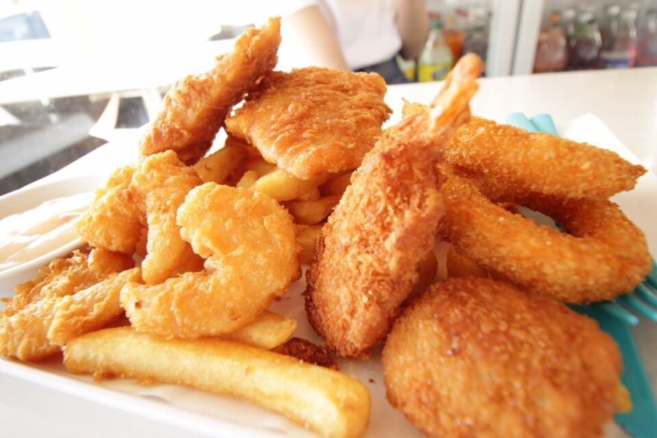 Fish & Chips and Japanese Food Perfect combination