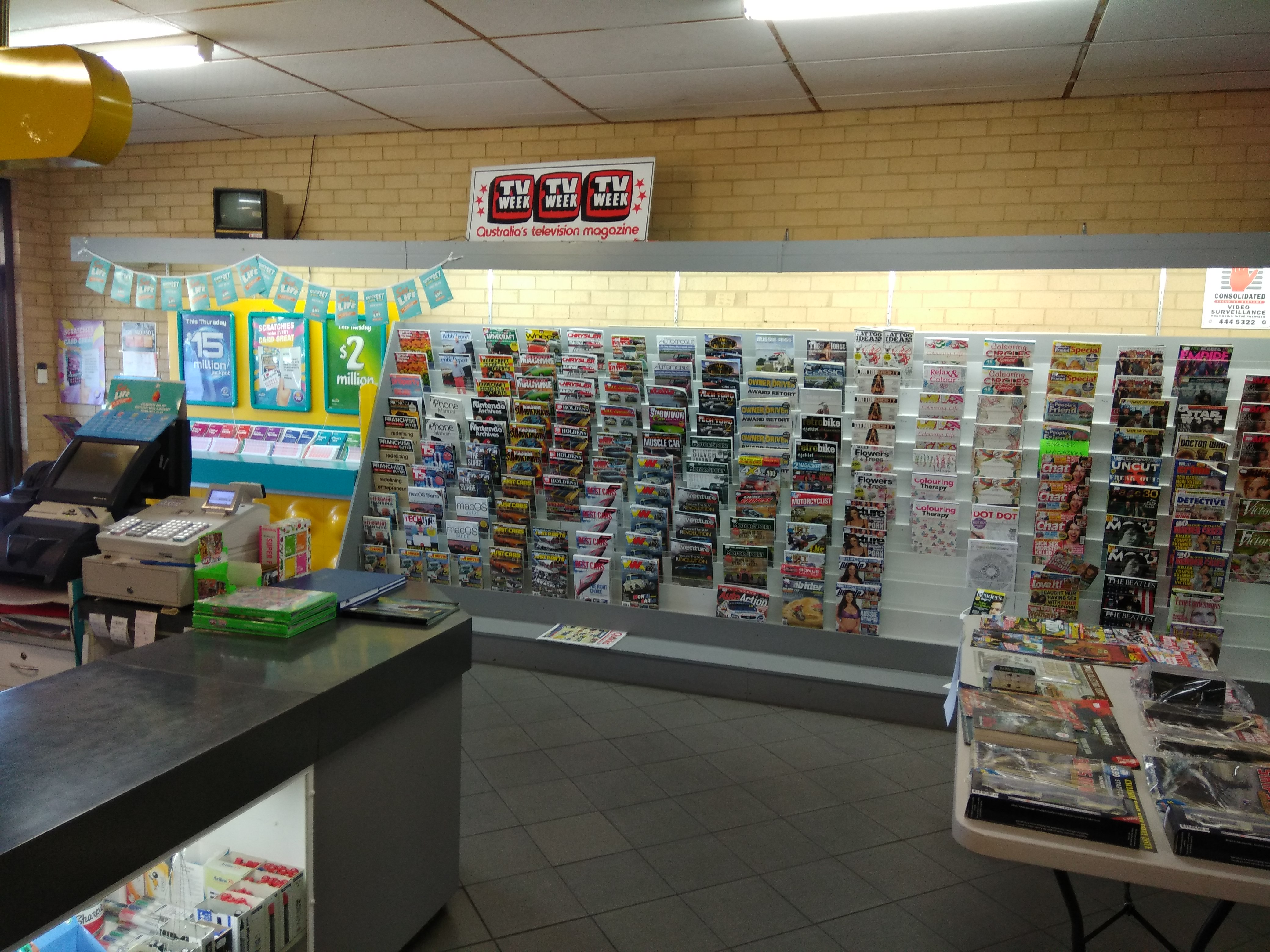 Orelia Newsagency and Lotto-Developing Area